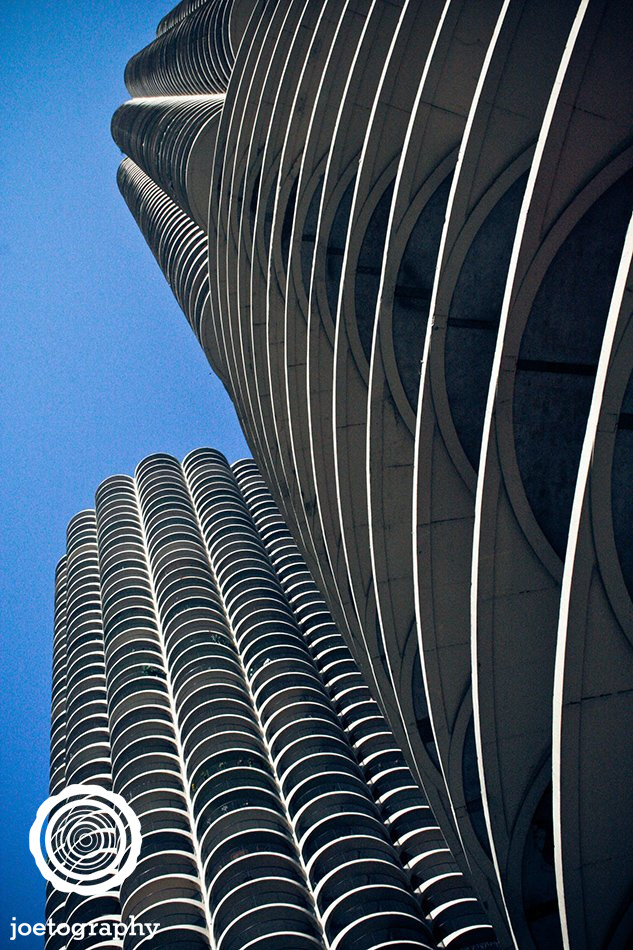 Corn Cobs - Marina Towers - Chicago Illinois