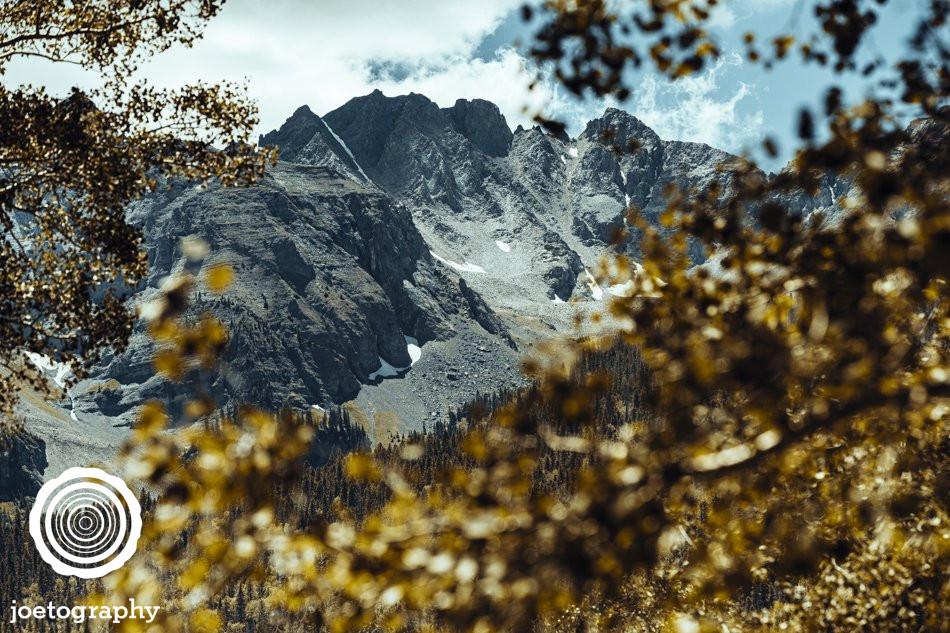 Pockets of Gold - Mount Sneffels - Ridgway - Colorado